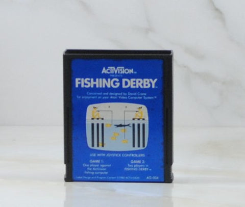 Vintage Atari 2600 Game Fishing Derby, Activision, 1980