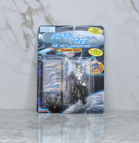 Vintage Star Trek The Next Generation Action Figure Playmates Captain Jean-Luc Picard As Locutus 6950 6986 1994
