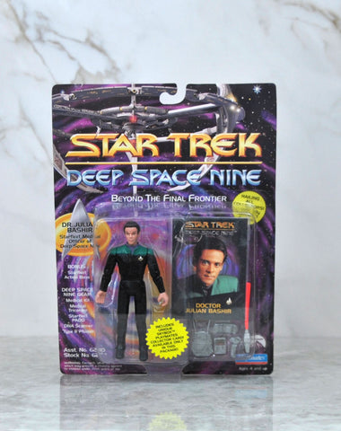 Vintage Playmates Star Trek Deep Space Nine Action Figure 1993 Doctor Julian Bashir