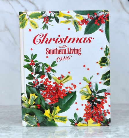 Vintage Christmas with Southern Living 1986 Oxmoor House