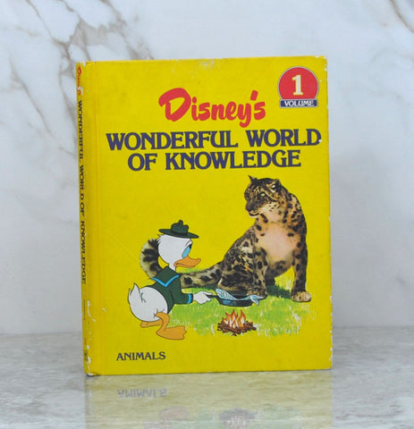 Vintage Disney Wonderful World of Knowledge 1982  Volume 1