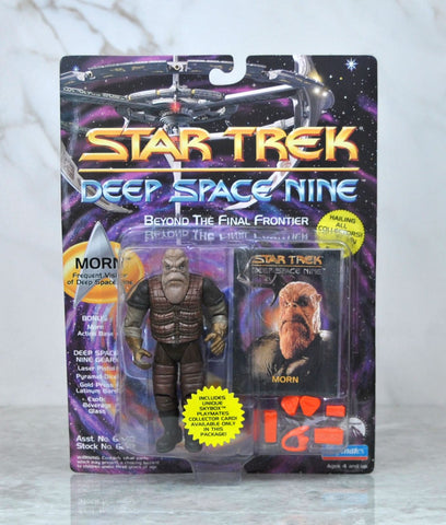 Vintage Playmates Star Trek Deep Space Nine Action Figure 1993 Morn