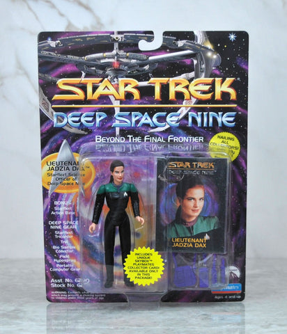 Vintage Playmates Star Trek Deep Space Nine Action Figure 1993 Lieutenant Jadzia Dax Skybox