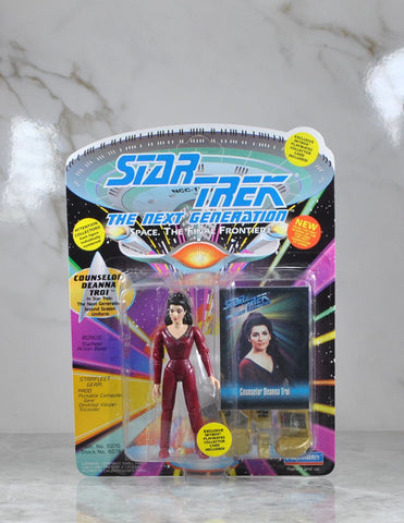 Vintage Playmates Star Trek The Next Generation Action Figure 1993 Counselor Deanna Troi