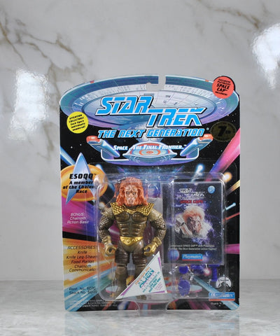 Vintage Playmates Star Trek The Next Generation Action Figure 1994 Esoqq Of The Chalnoth Race