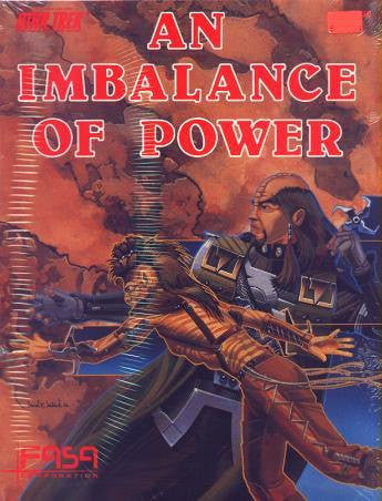 Vintage Star Trek The Original Series An Imbalance Of Power FASA RPG No 2220 1986 - Role Playing Game