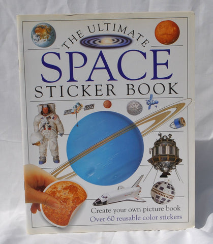 Vintage The Ultimate Space Sticker Book 1993 Paperback