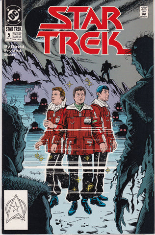 Vintage Star Trek Original Series Comic Book Number 5 February 1990 DC Comics