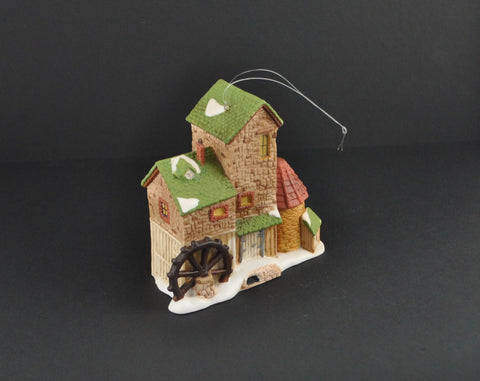 Vintage Department 56 Dickens Village Mill 98733 Ornament (Retired)