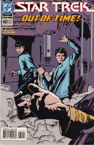 Vintage Star Trek Original Series Comic Book Number 62 August 1994 DC Comics