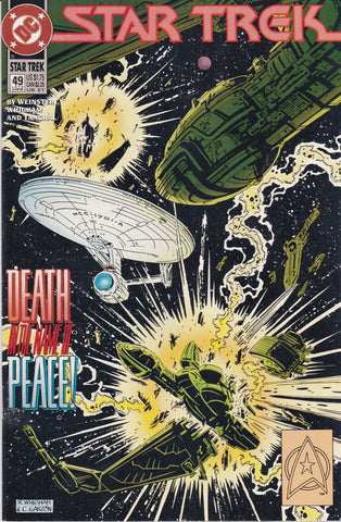 Vintage Star Trek Original Series Comic Book #49 June 1993 DC Comics