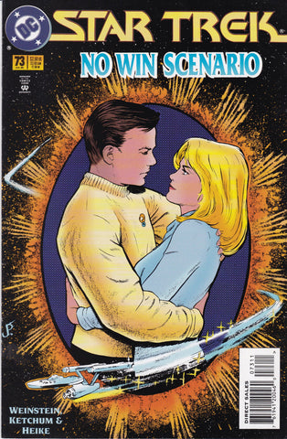 Vintage Star Trek Original Series Comic Book Number 73 July 1995 DC Comics