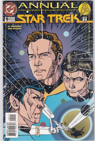Vintage Star Trek Original Series Comic Book Annual #5 1994 DC Comics