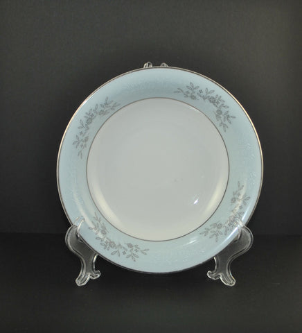 Vintage Noritake China Blue Dinner Plate Made In Japan Blue Plate Mid Century Mid Century1950s