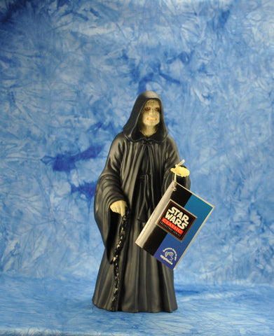 "Vintage Applause 1990s Star Wars Shadow Of The Empire The Star Wars Collector's Series 10"" Figure Emperor Palpatine Vinyl Doll"