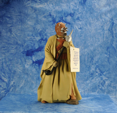 "Vintage Applause 1990s Star Wars Shadow Of The Empire The Star Wars Collector's Series 10"" Figure Tusken Raider Vinyl Doll"