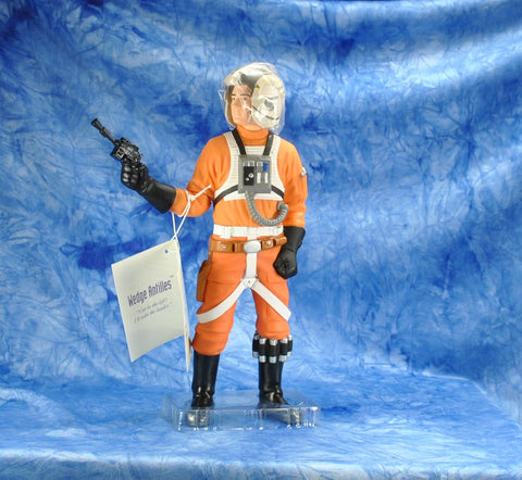 "Vintage Applause 1990s Star Wars Shadow Of The Empire The Star Wars Collector's Series 10"" Figure Wedge Antilles Vinyl Doll"