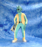 "Vintage Applause 1990s Star Wars Shadow Of The Empire The Star Wars Collector's Series 10"" Figure Greedo Vinyl Doll"