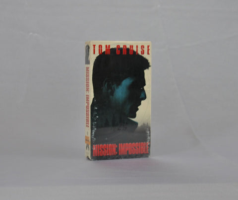 Modern Pre-Owned DVD Mission Impossible 1996 Sealed VHS Tape - Tom Cruise