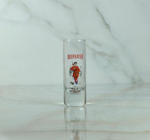 Vintage Beefeater Dry Gin Shot Glass