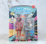 Vintage Star Trek The Next Generation Guinan Hostess Of The Ten-Forward Lounge USS Enterprise Action Figure Playmates 6070 6020 1993