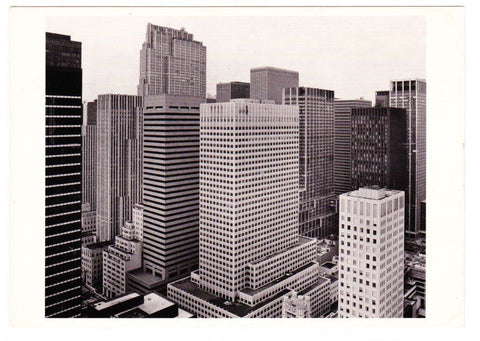 Vintage Postcard Of Photo Chronicles LTD Depicting The View From 540 Madison Ave New York 1980