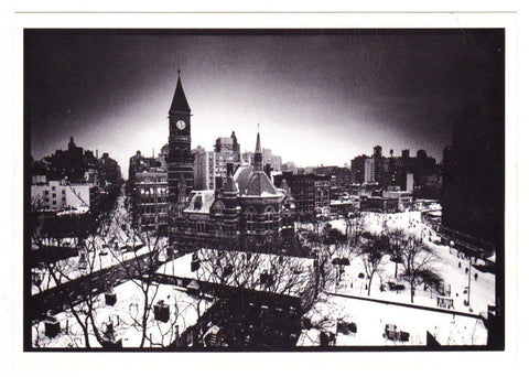 Vintage Postcard Of Photo Chronicles LTD Depicting Jefferson Market Library Greenwich Village New York