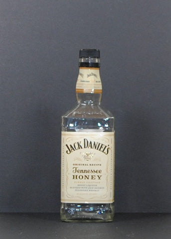 Modern Used Jack Daniels Honey Tennessee Whiskey 750ml Empty Liquor Bottle