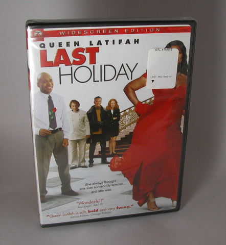 Modern New DVD Last Holiday, Queen Latifah, LL Cool J, Timothy Hutton, Alicia Witt  2006 New Factory Sealed