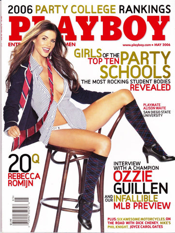 Modern Pre-Owned Playboy Magazine May 2006