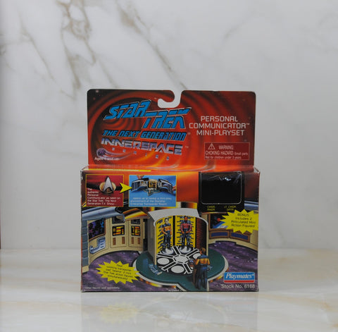 Vintage Star Trek The Next Generation Personal Communicator Mini Play Set, Playmates, 6168 1995