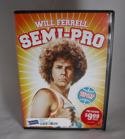 Modern Pre-Owned DVD Semi-Pro Unrated Edition 2008, Will Ferrell, Woody Harrelson, André Benjamin