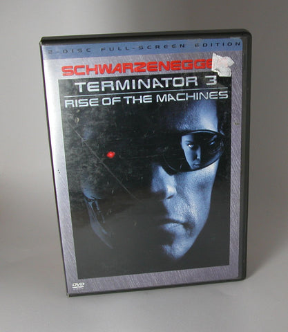 Modern Pre-Owned DVD Terminator 3: Rise of the Machines 2 Disk Full-Screen Edition, Arnold Schwarzenegger 2003