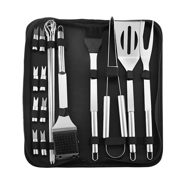 Landen BBQ Grill Tools Set Portable Barbecue Utensil Cooking Kit 5/20Pcs