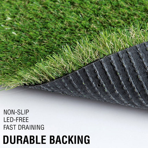 Synthetic Grass 10-80 SQM Fake Turf Artificial Mat Plant Lawn Flooring 20 30mm - Simply Homeware