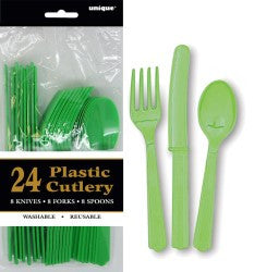 Solid Colour Party Plasticware - Entire Set , Party Supplies - Meteor, Simply Homeware - 17