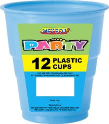Solid Colour Party Plasticware - Entire Set , Party Supplies - Meteor, Simply Homeware - 41