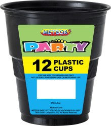 Solid Colour Party Plasticware - Entire Set , Party Supplies - Meteor, Simply Homeware - 31
