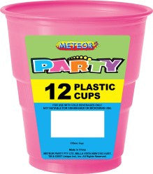 Solid Colour Party Plasticware - Entire Set , Party Supplies - Meteor, Simply Homeware - 11