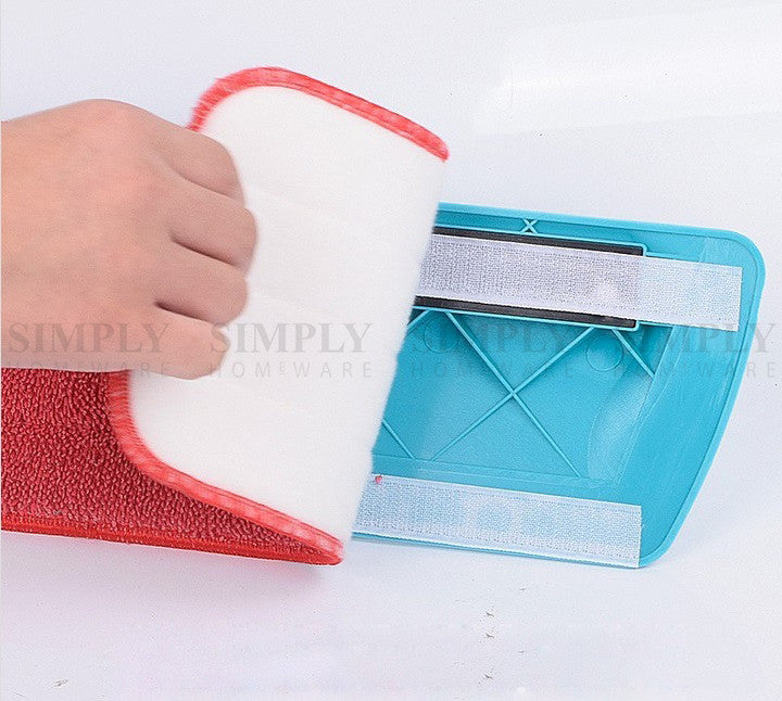 Spray Mop Pads Replacement Refill Microfibre Cloth Floor Microfiber Cleaning Red