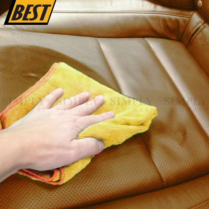 1000GSM Microfibre Car Drying Towel Cleaning Cloth Microfiber Dish Glass 62x30cm