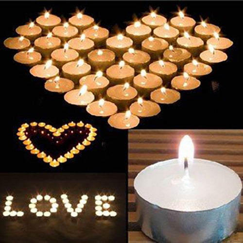 Tea Light Candles Bulk 4 & 9 Hour Tea Lights Tealight Tealights Unscented Candle - Simply Homeware