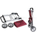 Shopping Cart Trolley Grocery Aluminium Foldable Luggage Wheels Basket Carts Bag - Simply Homeware