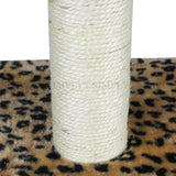 Cat Tree Scratching Post Pole Gym Poles Scratcher House Furniture Multi 60cm , Cat Tree - PJ SAS, Simply Homeware - 5