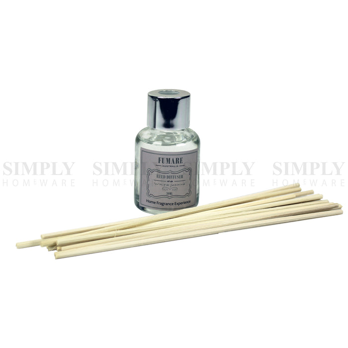 Reed Diffuser Fragrance Sticks Oil Refill Bottle Kit 3pcs 30ml , Candles - Bigspud, Simply Homeware - 5