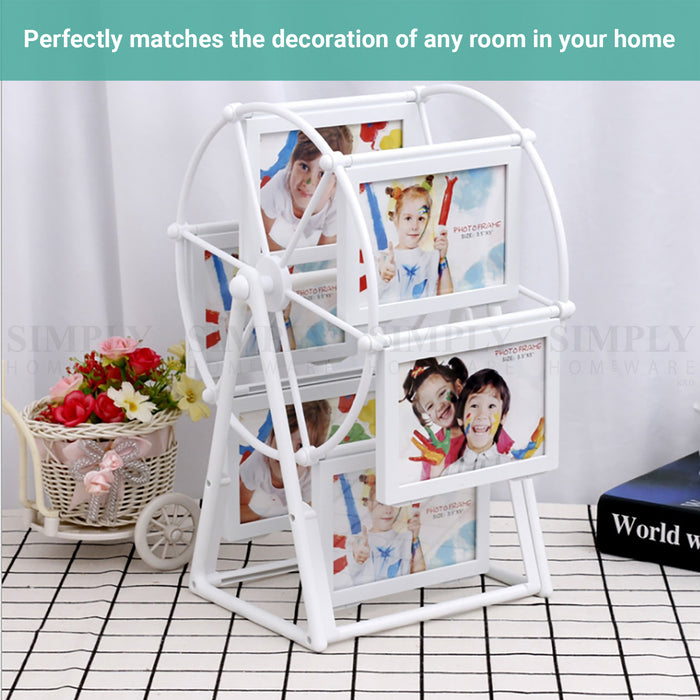 Lineguard Ferris Wheel Photo Frame Rotating Picture Platform Windmill Display
