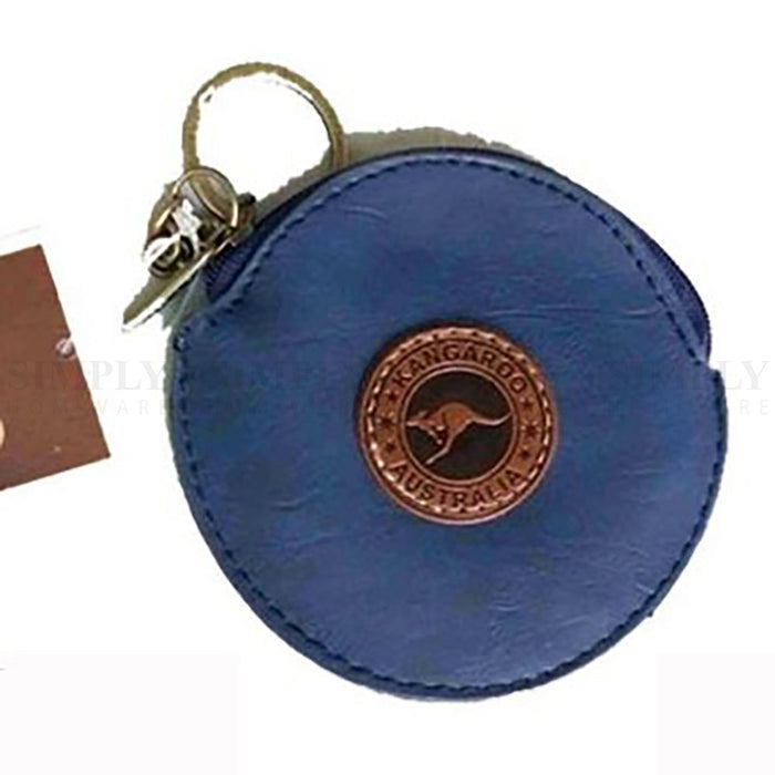Australian Souvenirs Leather Small Keyring Wallet ID Card Coin Purse Gift Pouch - Simply Homeware