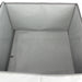 Folding Storage Box Basket Fabric Organiser Container Organizer Grey 40x40x25cm - Simply Homeware