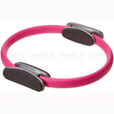 Pilates Ring Exercise Resistance Yoga Gym Rings Fitness Magic Circle Grip 37cm