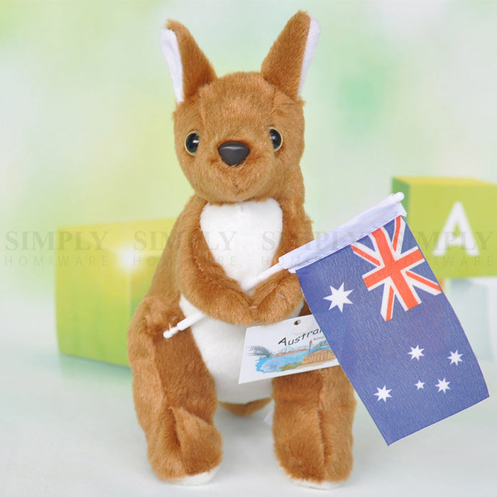 3x Australian Souvenir Kangaroo Koala Mini Plush Toy Stuffed Kids Gift Aussie AU - Simply Homeware